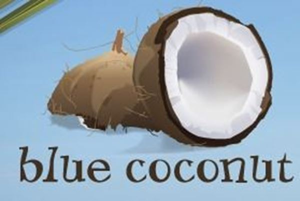 Blue Coconut (Victoria and John)