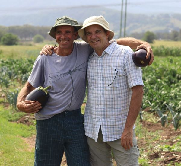 Chris and Adam from Mahbrook Organics