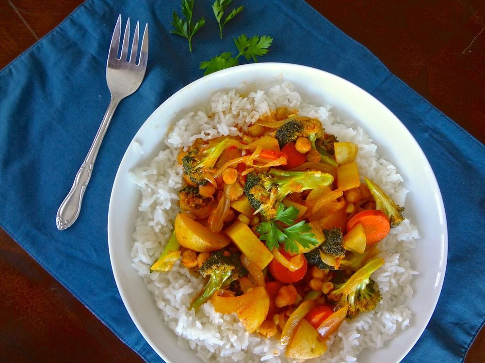 Tasty Vegetable Curry