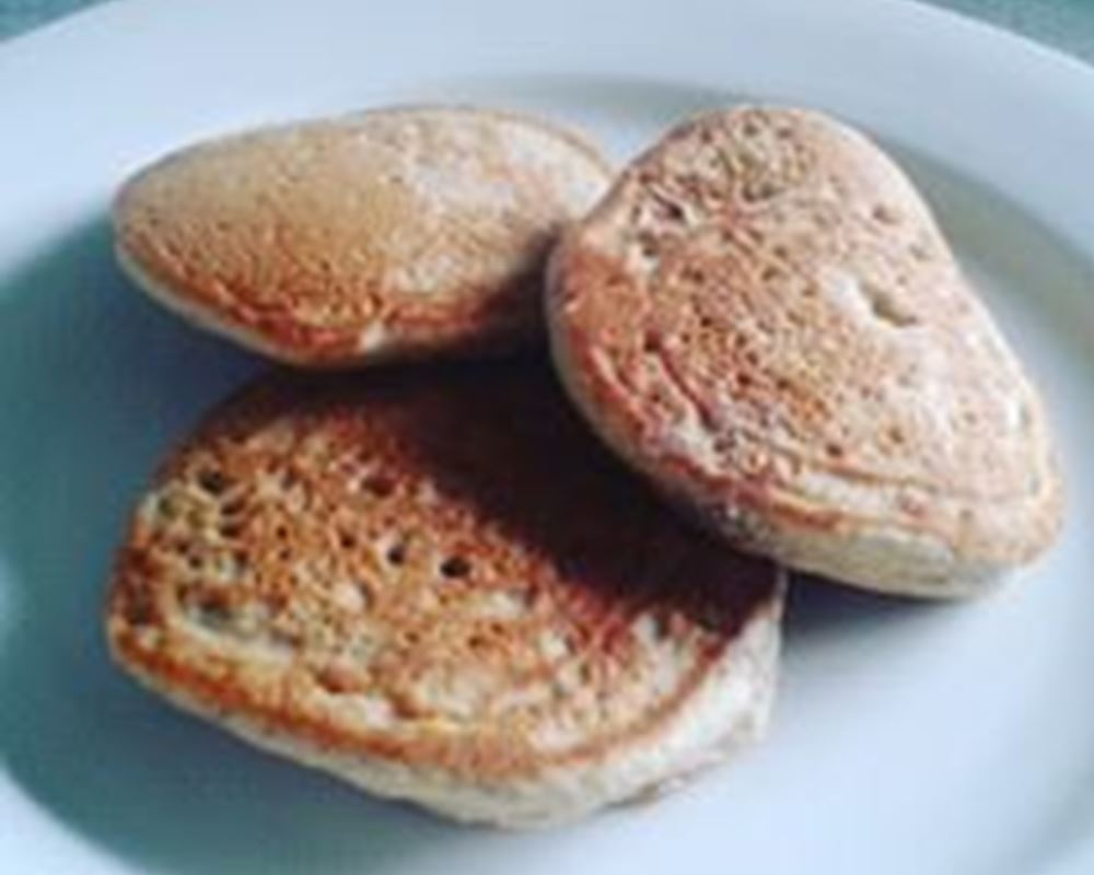 Buckwheat and Ground Almond Pancakes