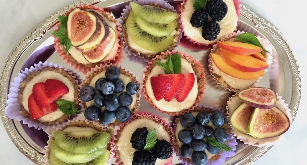 No-Bake Fruit Tartlets