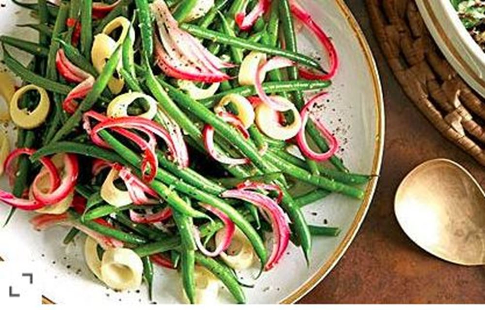 Green Bean Salad w/ Hearts of Palm