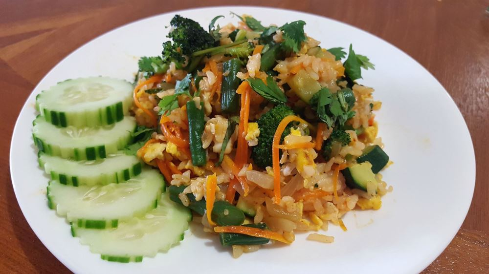 Hearty Fried-Rice