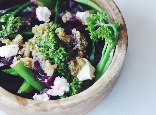 Broccoli and Beetroot Salad