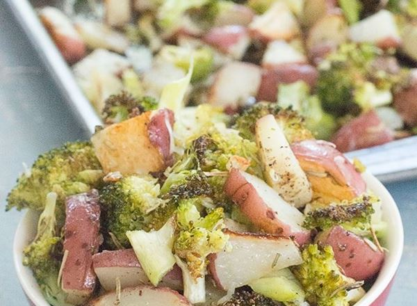 Roasted Red Potatoes & Broccoli