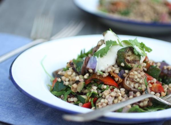Buckwheat & Roast Vegetable Salad
