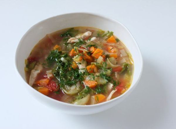 Chicken and Escarole Soup