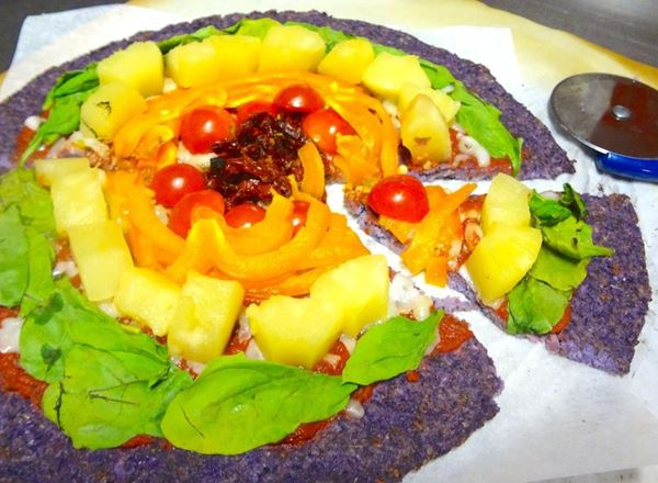 """Color-flower"" Crust Pizza"