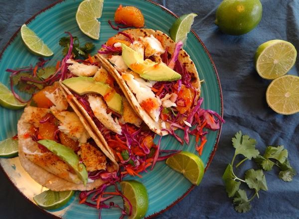 Sweet Chili Fish Tacos