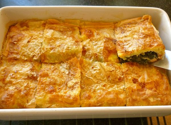 Silverbeet and Feta Borek
