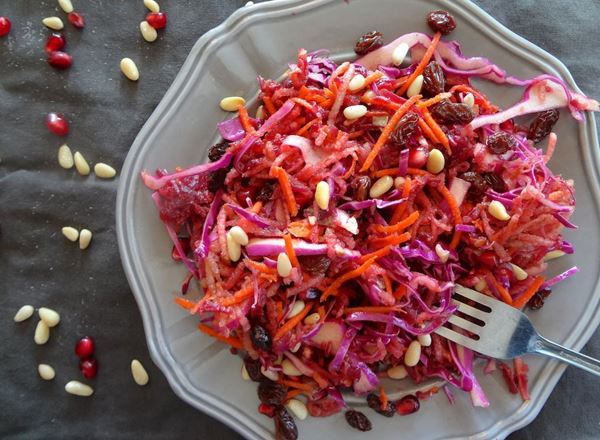 Tangy Beet Slaw