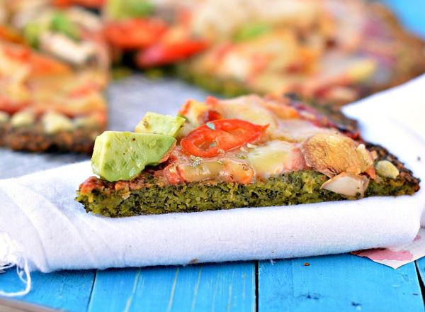 Kale Pizza Crust