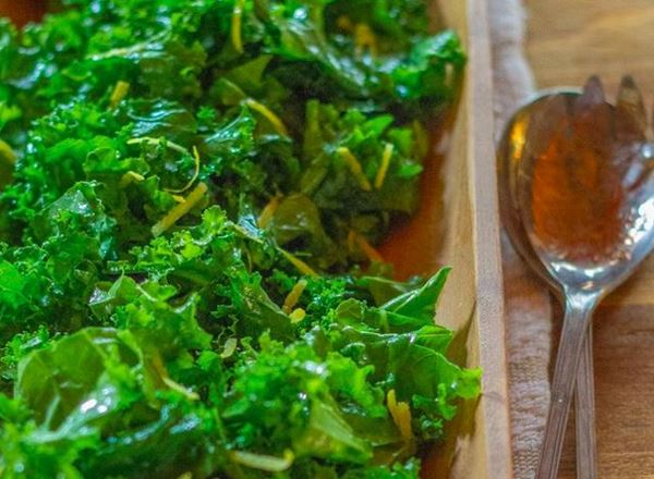 Simple Massage Kale Salad